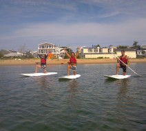 SUP yoga Provincetown