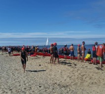 2015 paddler flotilla for Provincetown Aquasports