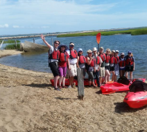 Kayaking trips in Ptown