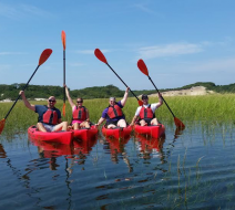Kayak tour in Provincetown