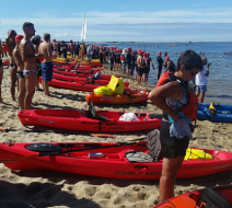 Free kayak rentals Provincetown MA. used for the 2015 swim for life