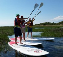 Paddleboarding Provincetown