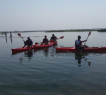 Kayaking in Centerville