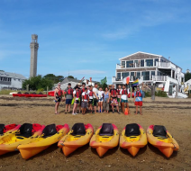 2016 Kayak group tour