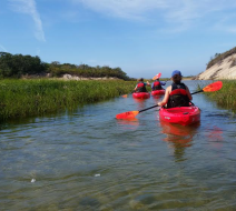Super moon kayak tours in Provincetown