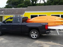 Kayak delivery Cape Cod