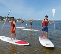 Paddleboard yoga Provincetown