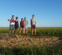 Salt marsh kayak tours