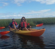 Salt marsh kayak tours Provincetown