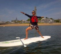 SUP yoga Ptown