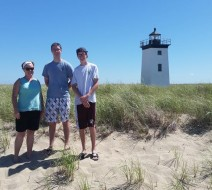 Kayaking to Long Point Lighthouse