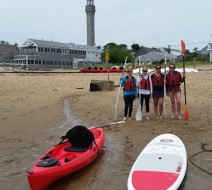 kayaking in Ptown