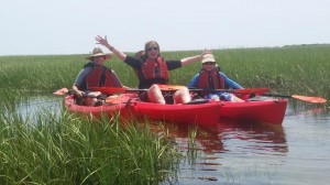 Guided kayak tour Orleans MA
