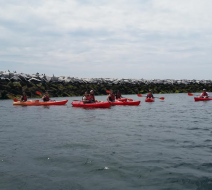 Kayak in Provincetown Harbor