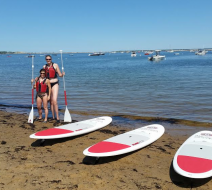 SUP tours on Cape Cod