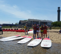 Paddleboard training Provincetown