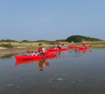 Salt water kayak
